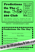 Predictions Personal Membership Card