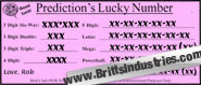 Predictions HOT Lucky Number